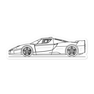 Ferrari FXX Sticker - Artlines Design