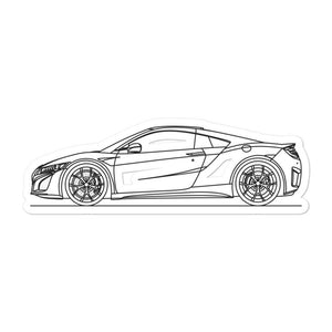 Acura NSX II Sticker