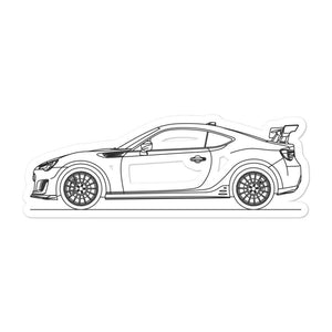 Subaru BRZ tS Sticker