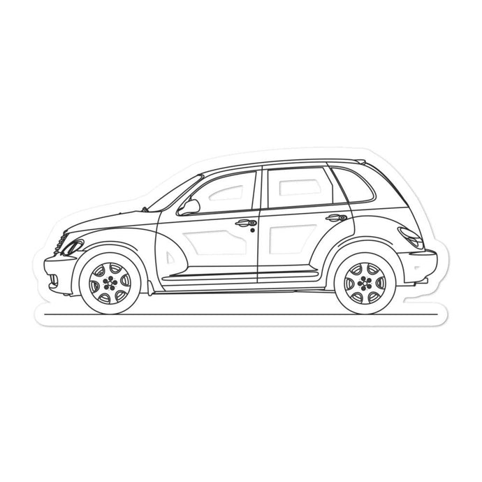 Chrysler PT Cruiser Sticker - Artlines Design