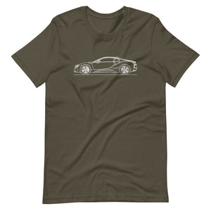 BMW i8 T-shirt Army - Artlines Design