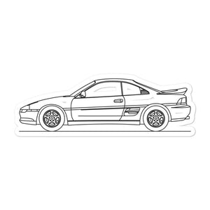 Toyota MR2 W20 Sticker - Artlines Design
