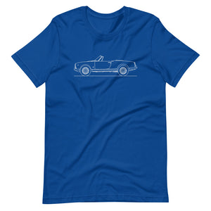 Alfa Romeo Giulietta Spider True Royal T-shirt - Artlines Design