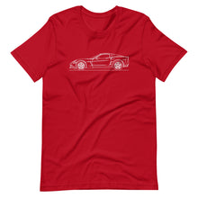 Load image into Gallery viewer, Chevrolet Corvette C6 Z06 T-shirt Red - Artlines Design