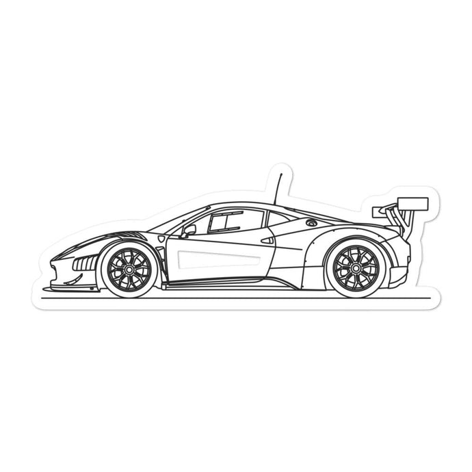 Ferrari 458 GT3 Sticker