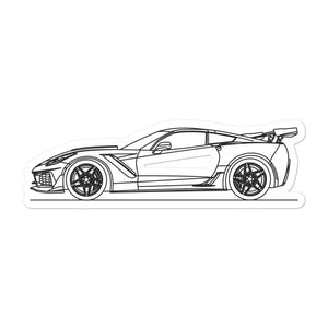 Chevrolet Corvette C7 ZR1 Sticker - Artlines Design