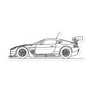 Aston Martin Vantage GT3 Sticker - Artlines Design