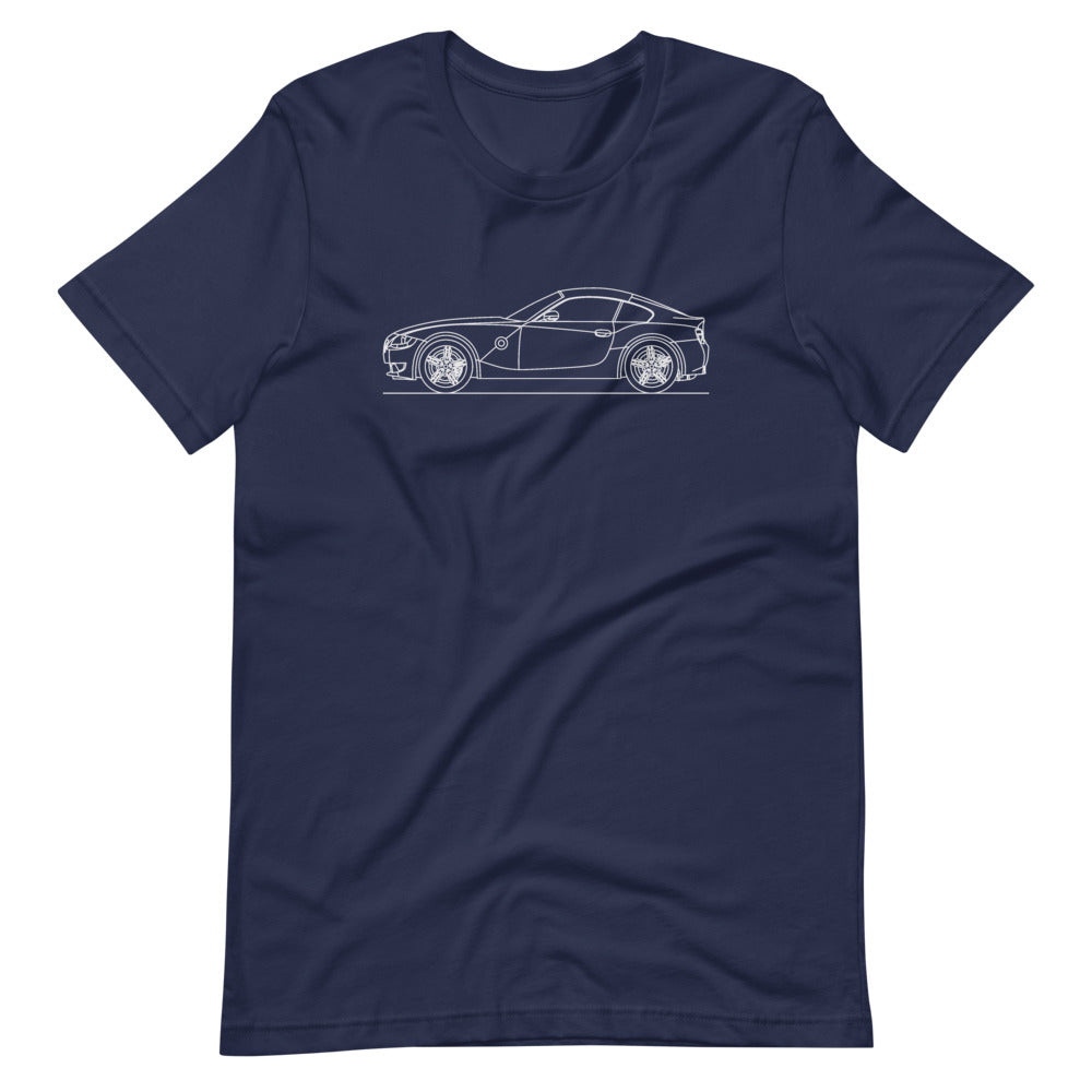 BMW E86 Z4M T-shirt Navy - Artlines Design