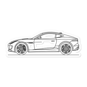 Jaguar F-Type R Sticker