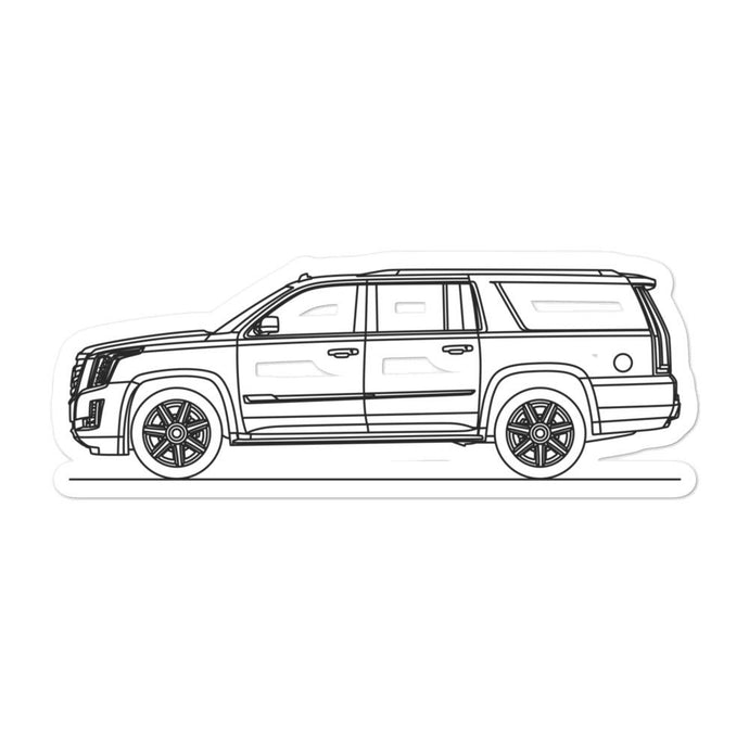 Cadillac Escalade ESV Sticker - Artlines Design