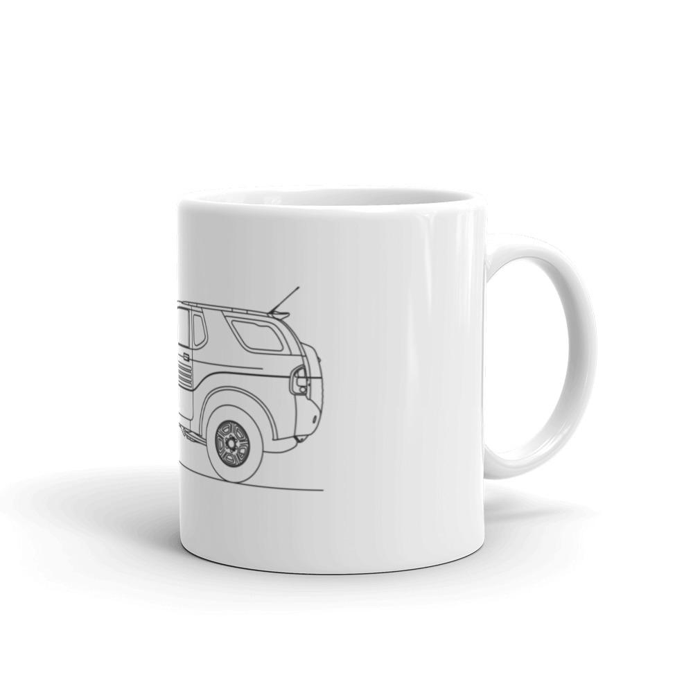 Isuzu VehiCROSS Mug - Artlines Design