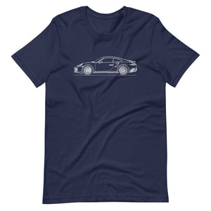 Porsche 911 991.1 Turbo T-shirt Navy