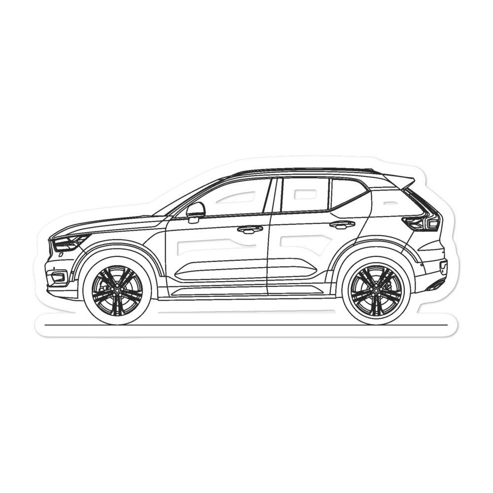 Volvo XC40 Sticker