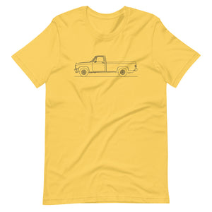 Chevrolet C/K 3rd Gen T-shirt Yellow - Artlines Design