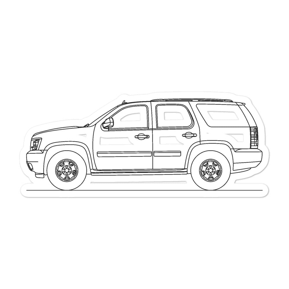 Chevrolet Tahoe GMT900 Sticker