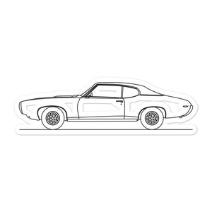Pontiac GTO I Sticker - Artlines Design