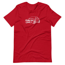 Load image into Gallery viewer, BMW E46 M3 FTQ T-shirt Red - Artlines Design