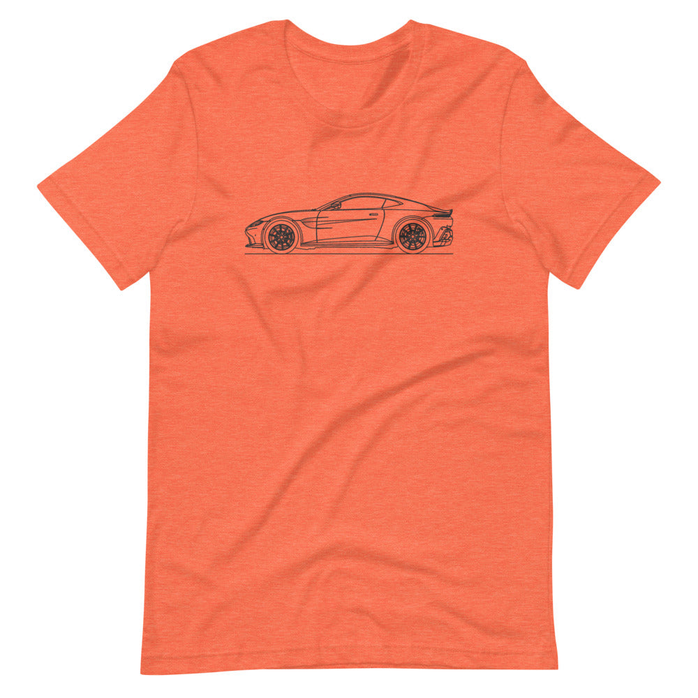 Aston Martin Vantage II Heather Orange T-shirt - Artlines Design