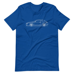 Alfa Romeo Brera True Royal T-shirt - Artlines Design