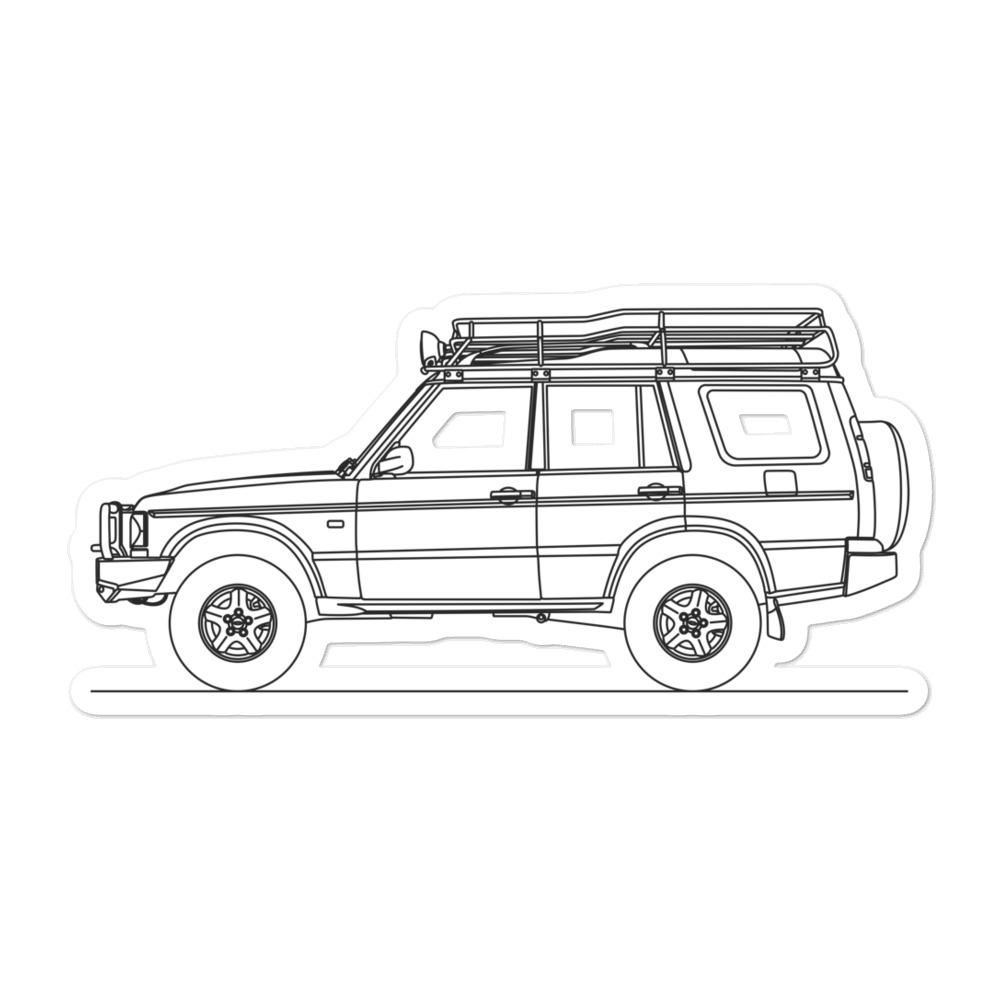 Land Rover Discovery II Sticker - Artlines Design