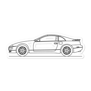 Nissan Z32 300ZX Sticker - Artlines Design