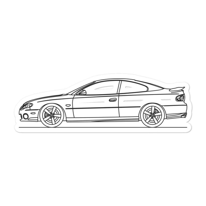 Pontiac GTO IV Sticker - Artlines Design