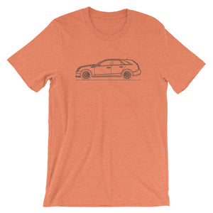 Cadillac CTS-V II Wagon T-shirt Heather Orange - Artlines Design