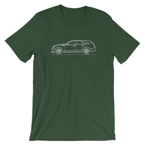 Cadillac CTS-V II Wagon T-shirt Forest - Artlines Design