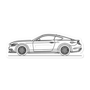 Ford Mustang S550 GT Sticker - Artlines Design