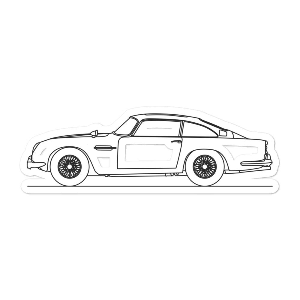 Aston Martin DB5 Sticker - Artlines Design