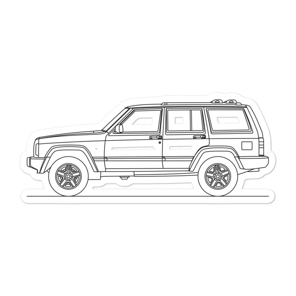 Jeep Cherokee XJ Sticker