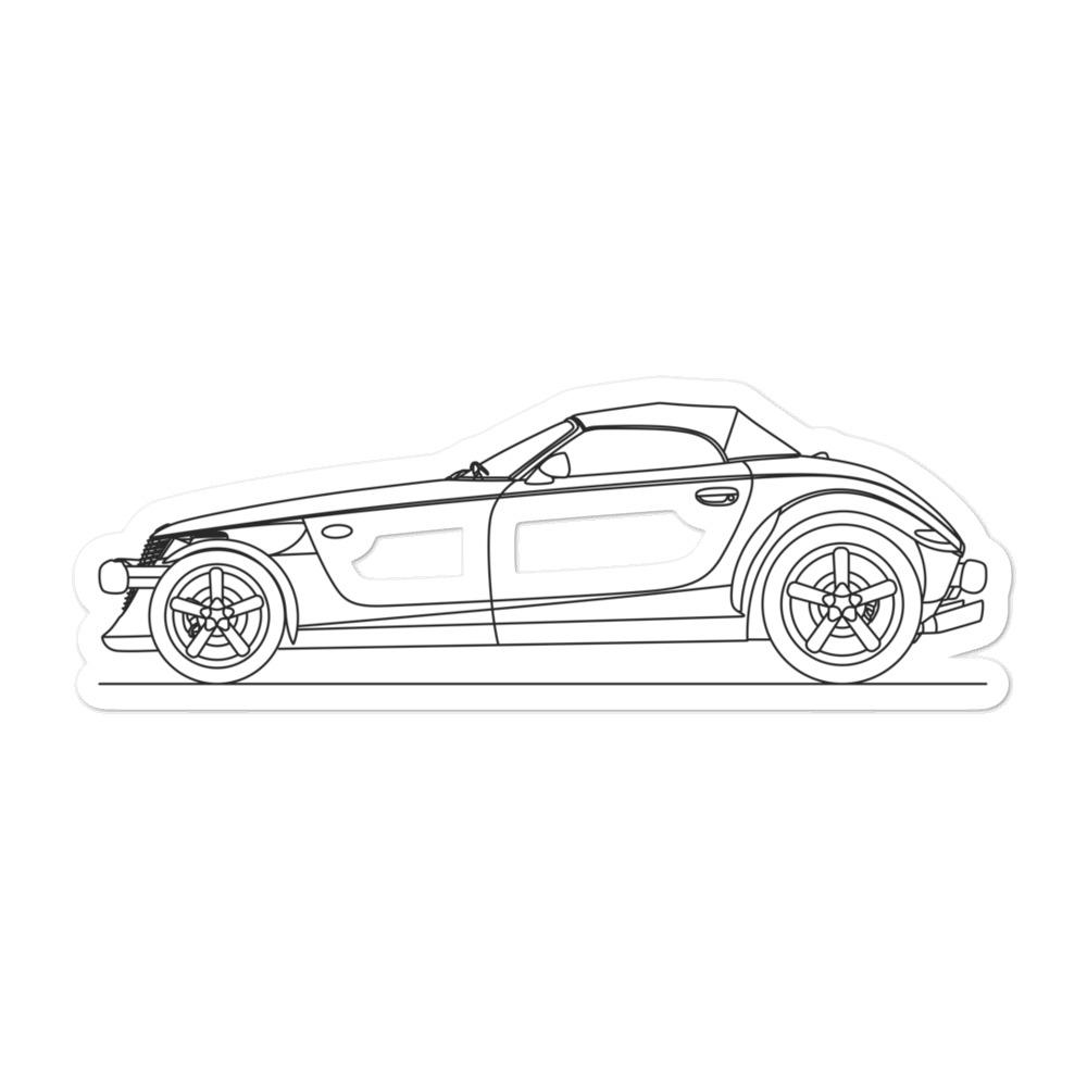 Plymouth Prowler Sticker