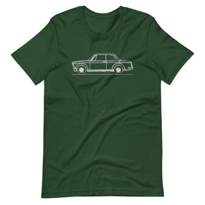 BMW 2002 Turbo T-shirt Forest - Artlines Design