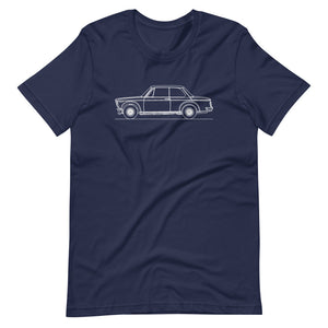 BMW 2002 Turbo T-shirt Navy - Artlines Design