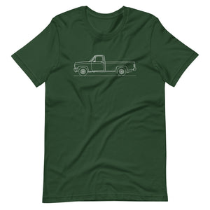 Chevrolet C/K 3rd Gen T-shirt Forest - Artlines Design