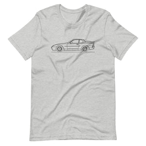 Porsche 944 Turbo S T-shirt Athletic Heather - Artlines Design