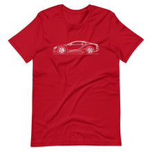 Load image into Gallery viewer, BMW i8 T-shirt Red - Artlines Design