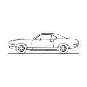 Plymouth Barracuda II Sticker