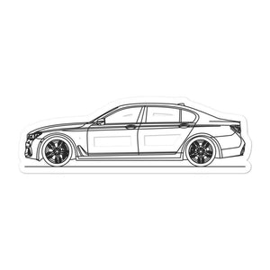 BMW G12 M760Li Sticker - Artlines Design
