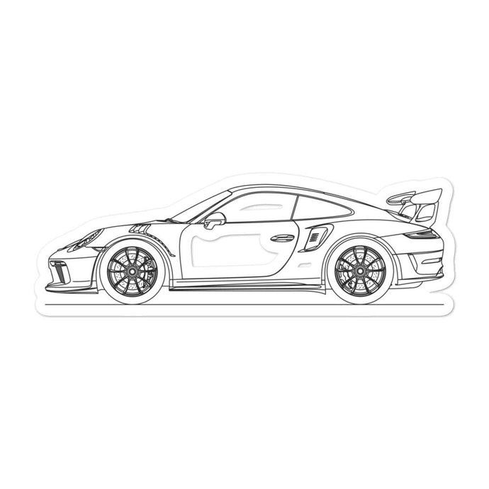 Porsche 911 991.2 GT3 RS Sticker - Artlines Design
