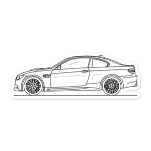 BMW E92 M3 Sticker