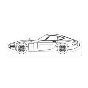 Toyota 2000GT Sticker