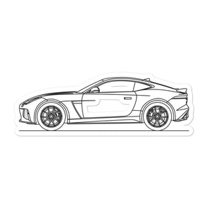 Jaguar F-Type SVR Sticker