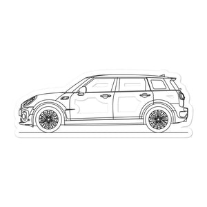 MINI F54 Clubman Sticker - Artlines Design