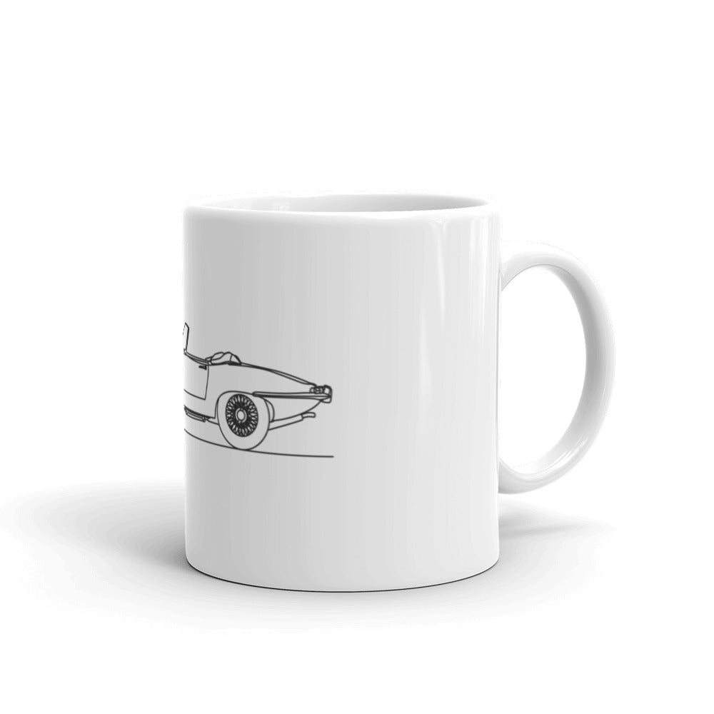 Jaguar E-Type Mug
