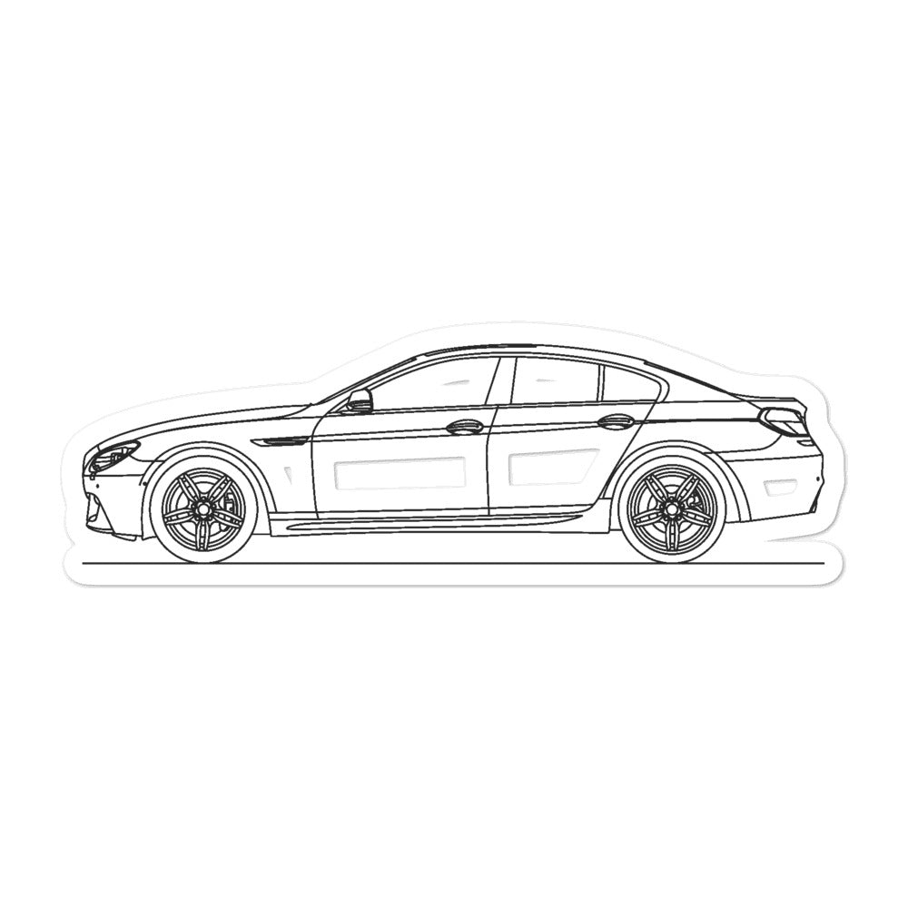 BMW F06 640i M Sport Sticker