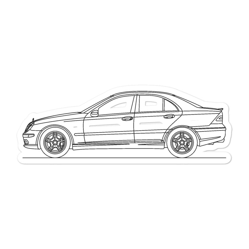 Mercedes-Benz W203 C 55 AMG Sticker