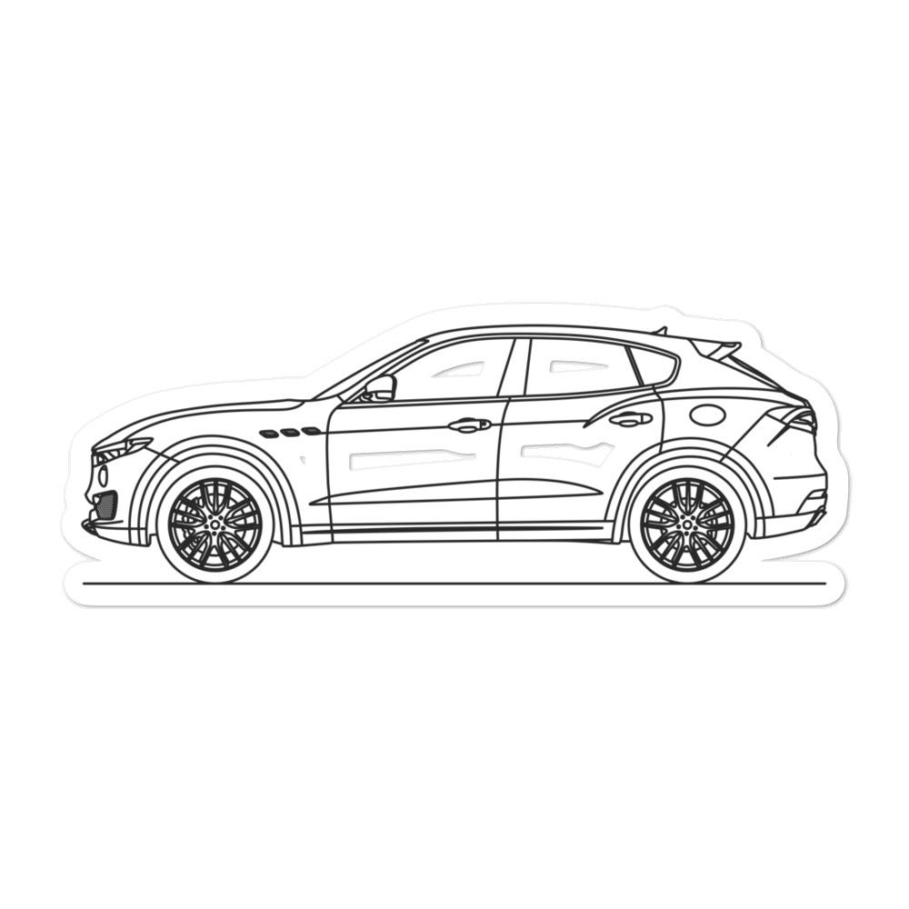 Maserati Levante Sticker - Artlines Design