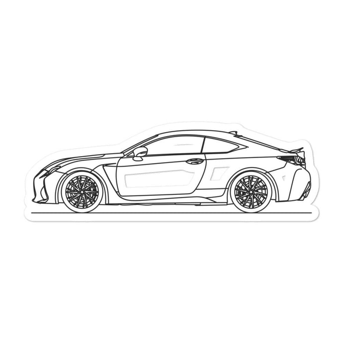 Lexus RC F Sticker - Artlines Design