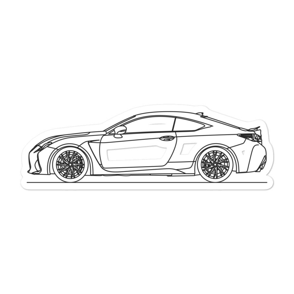 Lexus RC F Sticker
